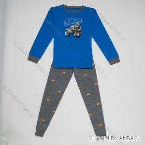 Pyžamo dlouhé dětské a dorost chlapecké (110-140) WOLF S2855C