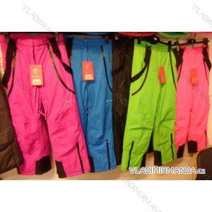Kalhoty lyžařské oteplováčky dorost dívčí a chlapecké (152-158) ECHT HB01-M2