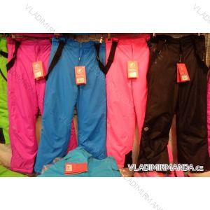 Kalhoty lyžařské oteplováčky dorost dívčí a chlapecké (158-164) ECHT HB02-M2