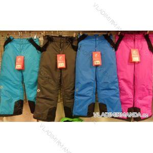 Kalhoty lyžařské oteplovačky dětské dorost dívčí a chlapecké (122-128) ECHT HB03-M1