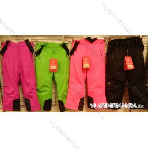 Kalhoty lyžařské oteplovačky dětské dívčí chlapecké (104-116) ECHT HB02-M1
