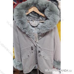Bunda zimní s kožíškem dámská (S-XL) ITALSKá MÓDA IM919026