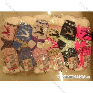 Ponožky zateplené vlnou thermo dámské (35-42) PESAIL WW017-1