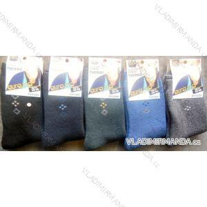 Ponožky teplé  thermo dorost chlapecké (35-41) AURA.VIA FVY353/FY6020