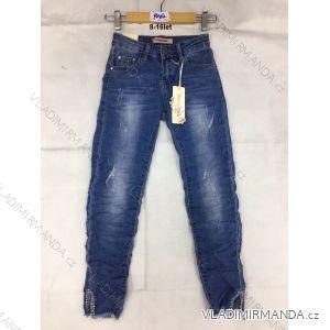 Rifle jeans slabé dětské dorost dívčí (8-16 LET) FaD MA3199062