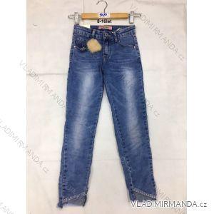 Rifle jeans slabé dětské dorost dívčí (8-16 LET) FaD MA3199070