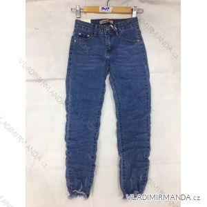 Rifle jeans slabé dětské dorost dívčí (8-16 LET) FaD MA3199069