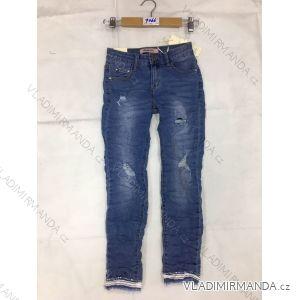 Rifle jeans slabé dětské dorost dívčí (8-16 LET) FaD MA3199066