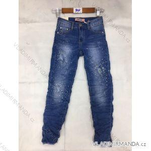 Rifle jeans slabé dětské dorost dívčí (8-16 LET) FaD MA3199061