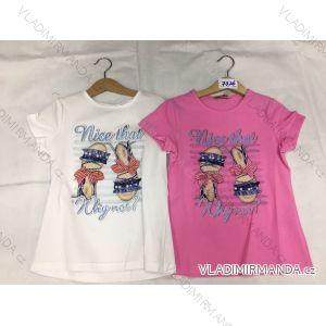 Tričko krátký rukáv dětské dorost dívčí (8-16 LET) FaD MA3197326
