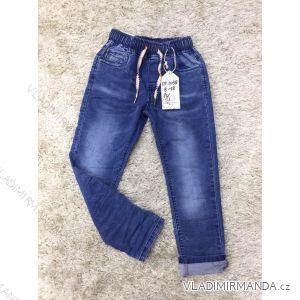 Rifle jeans slabé jarní dětské dorost chlapecké (8-18 LET) SAD MA319DT1038