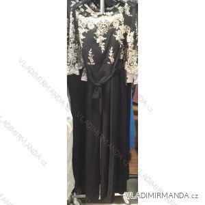 Overal elegantní dlouhý dámský (UNI S-L) ITALSKá MóDA IM919043