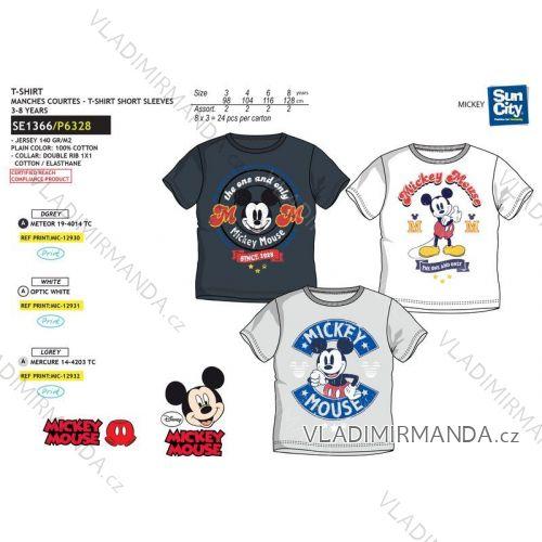 49aed3af9 Tričko krátky rukáv mickey mouse detské chlapčenské bavlnené (3-8 rokov) SUN  CITY