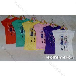 Tričko krátký rukáv s postavičkami dětské a  dorost dívčí (122-158) ARTENA 91024