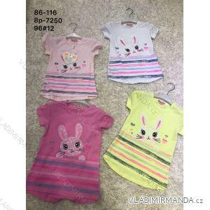 Tričko krátký rukáv kojenecké dětské dívčí (86-116) ACTIVE SPORT ACT198p-7250