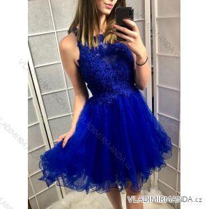 Šaty elegantní dámské plesové (uni s-l) ITALSKá MODA IM919067