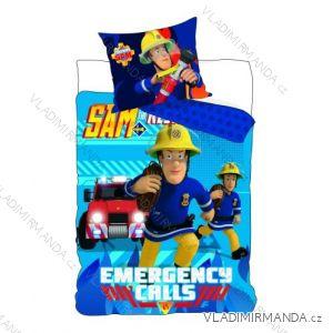 Ložní prádlo, povlečení požárník sam dětské chlapecké (140*90 + 40*55cm) SETINO 710-345