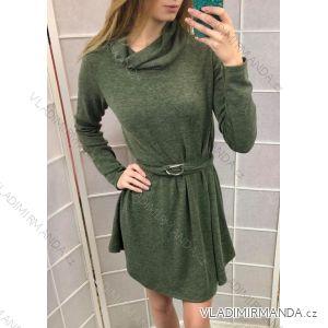 Šaty pletené dlhý rukáv dámske (uni sl) TALIANSKÁ MÓDA LEU18301103 ed13bcbefc