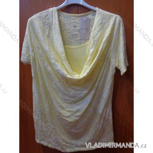 Tričko krátký rukáv dámské (uni) ITALSKá MODA IM21717180