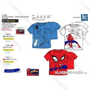 Tričko krátký rukáv spider man dětské chlapecké bavlněné (3-8 let) SUN CITY SE1178