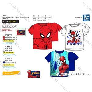 Tričko krátký rukáv spider man dětské chlapecké bavlněné (3-8 let) SUN CITY SE1450