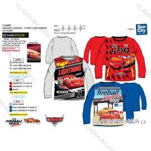 Tričko dlouhý rukáv cars blesk mc queen dětské chlapecké bavlněné (3-8 let) SUN CITY SE1445