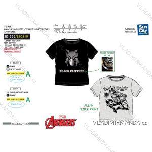 Tričko krátký rukáv avengers dětské dorost chlapecké bavlněné (4-10 let) SUN CITY SE1355