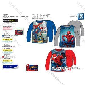 Tričko dlouhý rukáv spiderman dětské chlapecké bavlněné (3-8 let) SUN CITY SE1447