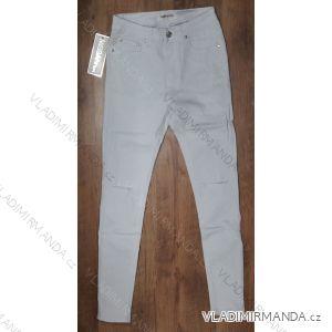 Kalhoty riflové dámské skinny (34-42/bílé) MISS ANNA MA119E04-6