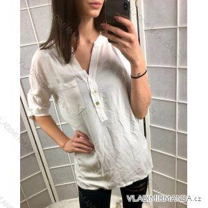 Košile/halenka 3/4 dlouhý rukáv dámská (uni s-l) ITALSKá MóDA IMC19178