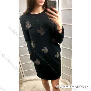 Šaty tenké dámské  mouse (uni s-l) ITALSKá MóDA IM419183