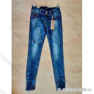 Rifle jeans dámské nízký sed (34-44) SMILING JEANS H0033