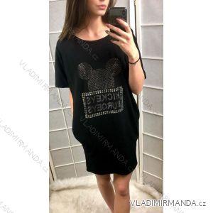 Šaty tenké dámské  mouse (uni s-l) ITALSKá MóDA IM419187