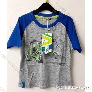 Tričko krátký rukáv dětské chlapecké (98-128) KUGO M0096