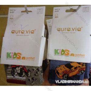 Punčocháče dětské chlapecké (1-12 let) AURA.VIA GHF19
