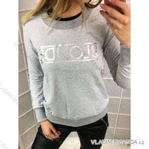 Mikina blonde dámská (uni s-l) ITALSKá MODA PV6183015