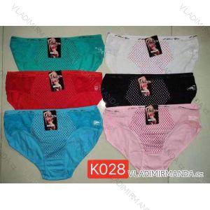 Kalhotky klasické dámské (xl-2xl) ELEVEK K028