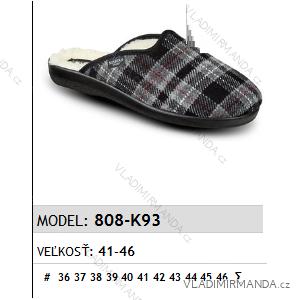 Papuče pantofle pánské (41-46) MJARTAN OBUV 808-K93