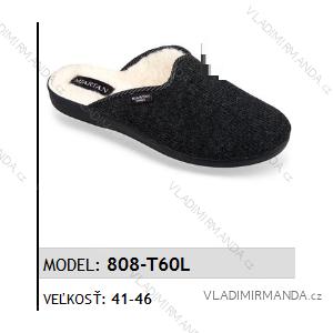 Papuče pantofle pánské (41-46) MJARTAN OBUV 808-T60L