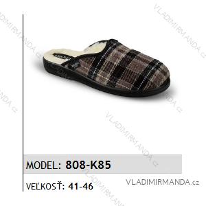 Papuče pantofle pánské (41-46) MJARTAN OBUV 808-K85