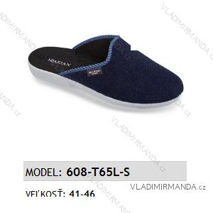 Papuče pantofle pánské (41-46) MJARTAN OBUV 608-T65L-S