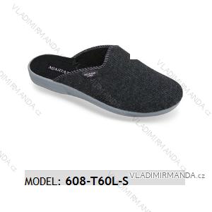 Papuče pantofle pánské (41-46) MJARTAN OBUV 608-T60L-S