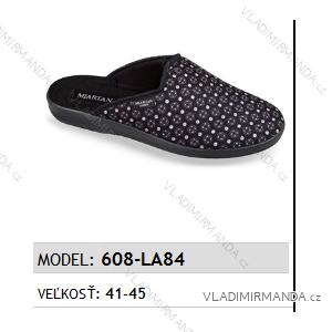 Papuče pantofle pánské (41-45) MJARTAN OBUV 608-LA84