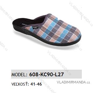 Papuče pantofle pánské (41-46) MJARTAN OBUV 608-KC90-L27