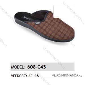 Papuče pantofle pánské (41-46) MJARTAN OBUV 608-C45
