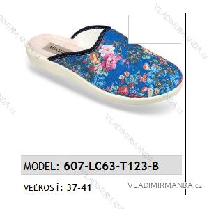 Papuče pantofle dámské (37-41) MJARTAN OBUV 6057-LC63-T123-B