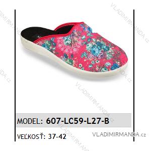 Papuče pantofle dámské (37-42) MJARTAN OBUV 607-LC59-L27-B