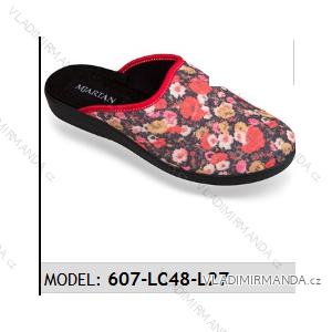 Papuče pantofle dámské (37-41) MJARTAN OBUV 607-LC48-L27