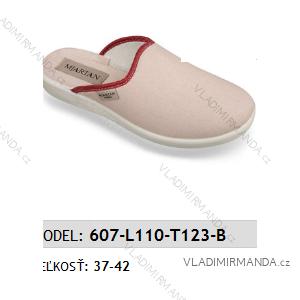 Papuče pantofle dámské (37-42) MJARTAN OBUV 607-L110-T123-B