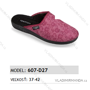 Papuče pantofle dámské (37-42) MJARTAN OBUV 607-D27